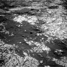 Nasa's Mars rover Curiosity acquired this image using its Left Navigation Camera on Sol 3140, at drive 1326, site number 88