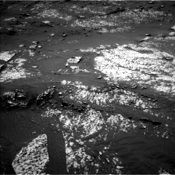 Nasa's Mars rover Curiosity acquired this image using its Left Navigation Camera on Sol 3140, at drive 1374, site number 88