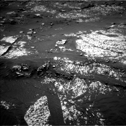 Nasa's Mars rover Curiosity acquired this image using its Left Navigation Camera on Sol 3140, at drive 1380, site number 88