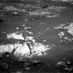 Nasa's Mars rover Curiosity acquired this image using its Left Navigation Camera on Sol 3140, at drive 1410, site number 88