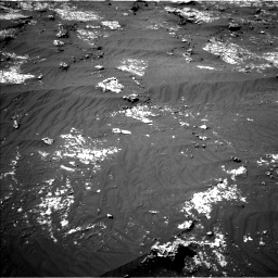 Nasa's Mars rover Curiosity acquired this image using its Left Navigation Camera on Sol 3140, at drive 1470, site number 88