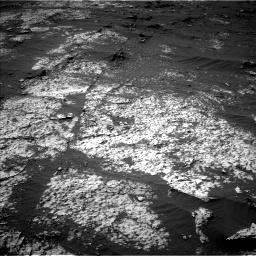Nasa's Mars rover Curiosity acquired this image using its Left Navigation Camera on Sol 3140, at drive 1566, site number 88