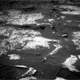 Nasa's Mars rover Curiosity acquired this image using its Left Navigation Camera on Sol 3140, at drive 1626, site number 88