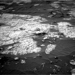 Nasa's Mars rover Curiosity acquired this image using its Left Navigation Camera on Sol 3140, at drive 1728, site number 88
