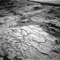Nasa's Mars rover Curiosity acquired this image using its Right Navigation Camera on Sol 3140, at drive 1242, site number 88