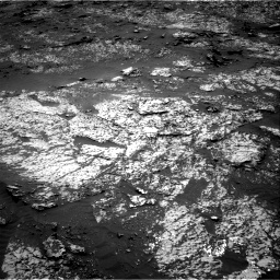 Nasa's Mars rover Curiosity acquired this image using its Right Navigation Camera on Sol 3140, at drive 1362, site number 88