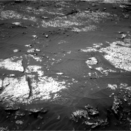 Nasa's Mars rover Curiosity acquired this image using its Right Navigation Camera on Sol 3140, at drive 1410, site number 88