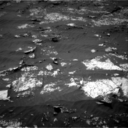 Nasa's Mars rover Curiosity acquired this image using its Right Navigation Camera on Sol 3140, at drive 1422, site number 88