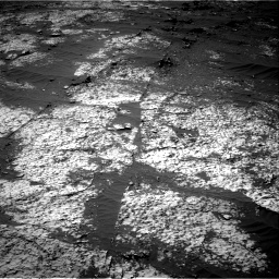 Nasa's Mars rover Curiosity acquired this image using its Right Navigation Camera on Sol 3140, at drive 1572, site number 88