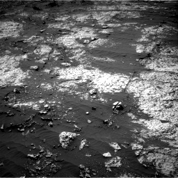 Nasa's Mars rover Curiosity acquired this image using its Right Navigation Camera on Sol 3140, at drive 1584, site number 88