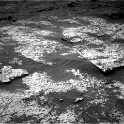 Nasa's Mars rover Curiosity acquired this image using its Right Navigation Camera on Sol 3140, at drive 1656, site number 88