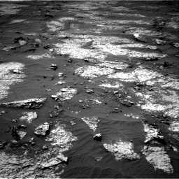 Nasa's Mars rover Curiosity acquired this image using its Right Navigation Camera on Sol 3140, at drive 1710, site number 88