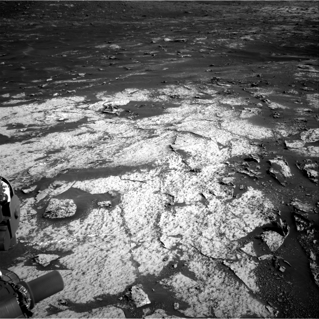 Nasa's Mars rover Curiosity acquired this image using its Right Navigation Camera on Sol 3140, at drive 1734, site number 88