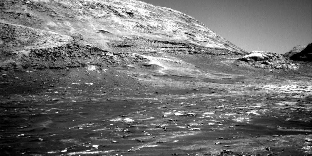 Nasa's Mars rover Curiosity acquired this image using its Right Navigation Camera on Sol 3141, at drive 1734, site number 88