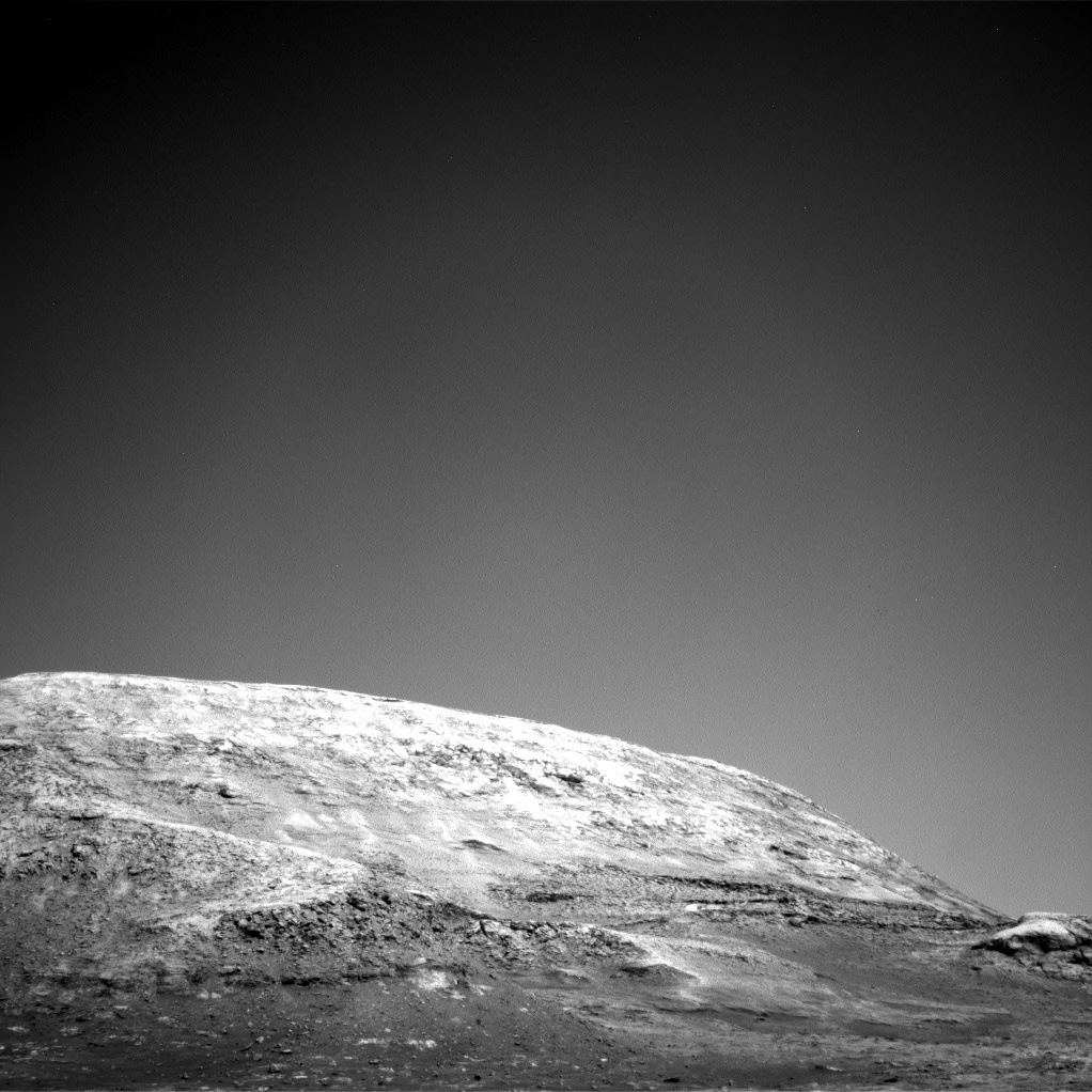 Nasa's Mars rover Curiosity acquired this image using its Right Navigation Camera on Sol 3142, at drive 1734, site number 88