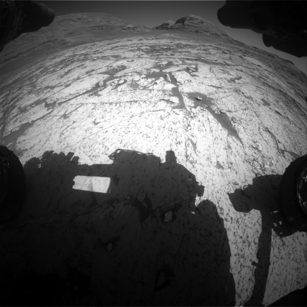 Nasa's Mars rover Curiosity acquired this image using its Front Hazard Avoidance Camera (Front Hazcam) on Sol 3143, at drive 2130, site number 88