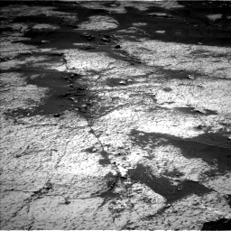 Nasa's Mars rover Curiosity acquired this image using its Left Navigation Camera on Sol 3143, at drive 1758, site number 88