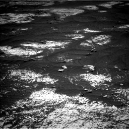 Nasa's Mars rover Curiosity acquired this image using its Left Navigation Camera on Sol 3143, at drive 1872, site number 88