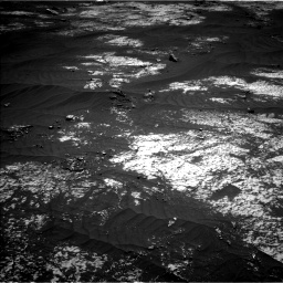Nasa's Mars rover Curiosity acquired this image using its Left Navigation Camera on Sol 3143, at drive 1896, site number 88