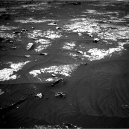 Nasa's Mars rover Curiosity acquired this image using its Left Navigation Camera on Sol 3143, at drive 1956, site number 88
