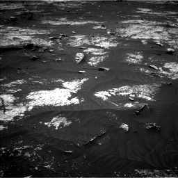 Nasa's Mars rover Curiosity acquired this image using its Left Navigation Camera on Sol 3143, at drive 1962, site number 88