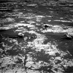 Nasa's Mars rover Curiosity acquired this image using its Left Navigation Camera on Sol 3143, at drive 2016, site number 88