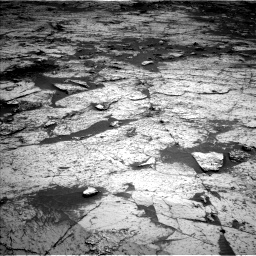 Nasa's Mars rover Curiosity acquired this image using its Left Navigation Camera on Sol 3143, at drive 2118, site number 88