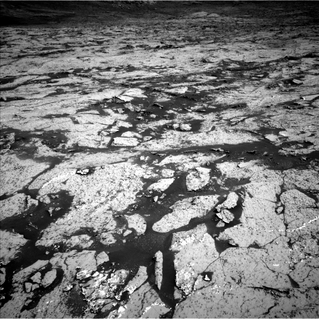 Nasa's Mars rover Curiosity acquired this image using its Left Navigation Camera on Sol 3143, at drive 2130, site number 88