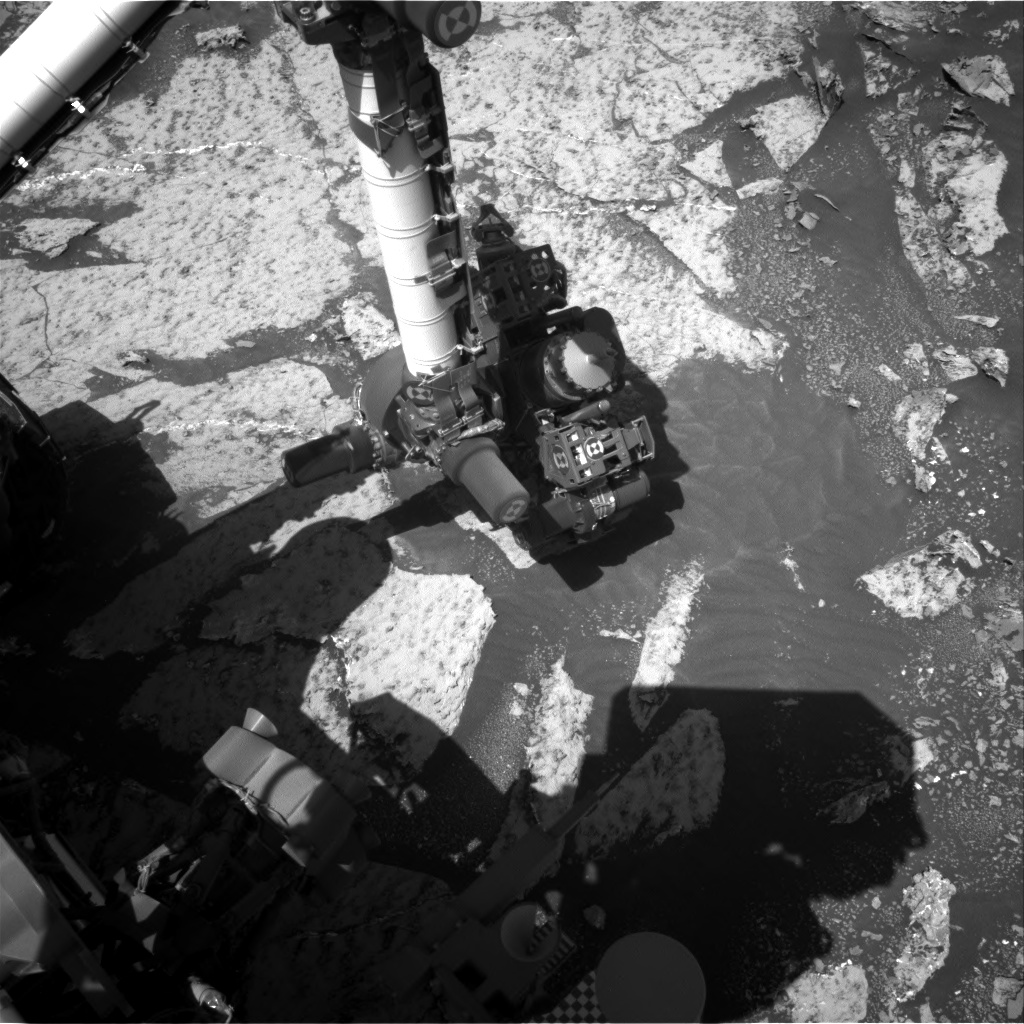 Nasa's Mars rover Curiosity acquired this image using its Right Navigation Camera on Sol 3143, at drive 1734, site number 88