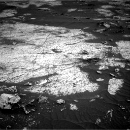 Nasa's Mars rover Curiosity acquired this image using its Right Navigation Camera on Sol 3143, at drive 1740, site number 88