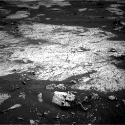 Nasa's Mars rover Curiosity acquired this image using its Right Navigation Camera on Sol 3143, at drive 1746, site number 88