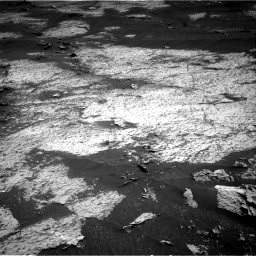Nasa's Mars rover Curiosity acquired this image using its Right Navigation Camera on Sol 3143, at drive 1752, site number 88