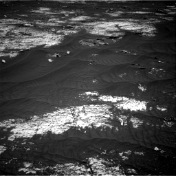 Nasa's Mars rover Curiosity acquired this image using its Right Navigation Camera on Sol 3143, at drive 1932, site number 88