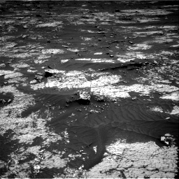Nasa's Mars rover Curiosity acquired this image using its Right Navigation Camera on Sol 3143, at drive 2010, site number 88