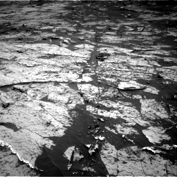 Nasa's Mars rover Curiosity acquired this image using its Right Navigation Camera on Sol 3143, at drive 2076, site number 88