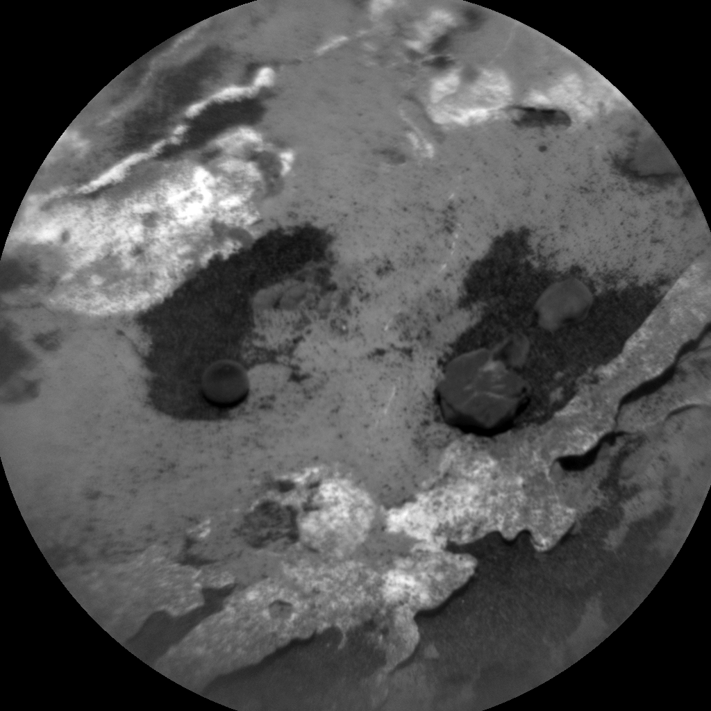 Nasa's Mars rover Curiosity acquired this image using its Chemistry & Camera (ChemCam) on Sol 3144, at drive 2130, site number 88