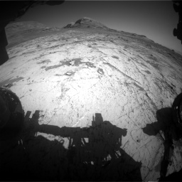 Nasa's Mars rover Curiosity acquired this image using its Front Hazard Avoidance Camera (Front Hazcam) on Sol 3145, at drive 2280, site number 88