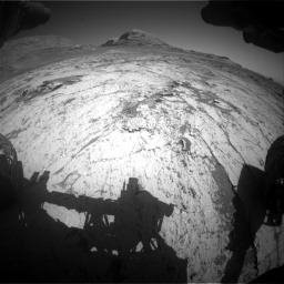Nasa's Mars rover Curiosity acquired this image using its Front Hazard Avoidance Camera (Front Hazcam) on Sol 3145, at drive 2262, site number 88