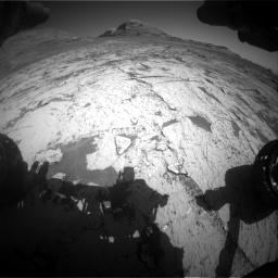 Nasa's Mars rover Curiosity acquired this image using its Front Hazard Avoidance Camera (Front Hazcam) on Sol 3145, at drive 2292, site number 88