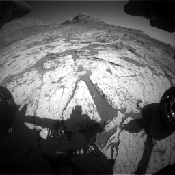 Nasa's Mars rover Curiosity acquired this image using its Front Hazard Avoidance Camera (Front Hazcam) on Sol 3145, at drive 2310, site number 88