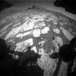 Nasa's Mars rover Curiosity acquired this image using its Front Hazard Avoidance Camera (Front Hazcam) on Sol 3145, at drive 2334, site number 88