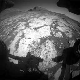 Nasa's Mars rover Curiosity acquired this image using its Front Hazard Avoidance Camera (Front Hazcam) on Sol 3145, at drive 2340, site number 88