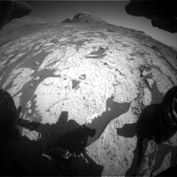 Nasa's Mars rover Curiosity acquired this image using its Front Hazard Avoidance Camera (Front Hazcam) on Sol 3145, at drive 2346, site number 88