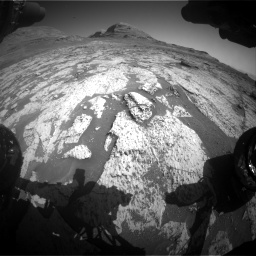 Nasa's Mars rover Curiosity acquired this image using its Front Hazard Avoidance Camera (Front Hazcam) on Sol 3145, at drive 2364, site number 88