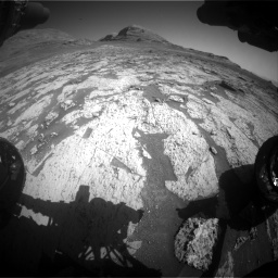 Nasa's Mars rover Curiosity acquired this image using its Front Hazard Avoidance Camera (Front Hazcam) on Sol 3145, at drive 2370, site number 88