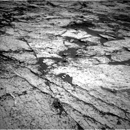 Nasa's Mars rover Curiosity acquired this image using its Left Navigation Camera on Sol 3145, at drive 2136, site number 88