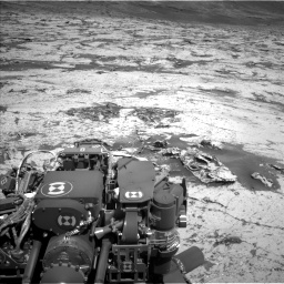 Nasa's Mars rover Curiosity acquired this image using its Left Navigation Camera on Sol 3145, at drive 2262, site number 88