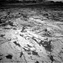 Nasa's Mars rover Curiosity acquired this image using its Left Navigation Camera on Sol 3145, at drive 2280, site number 88