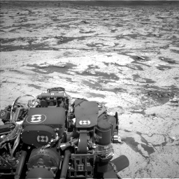 Nasa's Mars rover Curiosity acquired this image using its Left Navigation Camera on Sol 3145, at drive 2292, site number 88