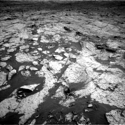 Nasa's Mars rover Curiosity acquired this image using its Left Navigation Camera on Sol 3145, at drive 2316, site number 88
